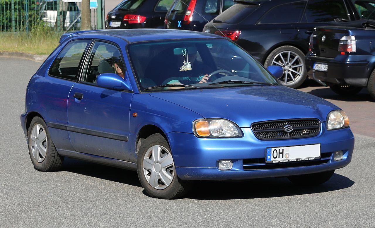 File Suzuki Baleno Hatchback Facelift Front Right Jpg