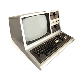 Tandy/Radio Shack TRS-80 Model 3 computer.