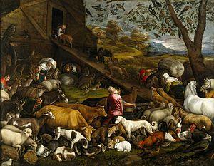 The Animals Entering Noah' Ark