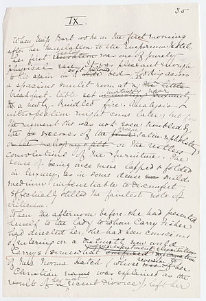 English: Page from the original manuscript of ...