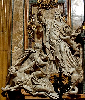 Triumph of Faith over Idolatry, by Jean-Baptis...