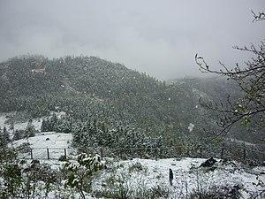 Tiếng Việt: Phong cảnh Sapa trong tuyết trắng ...