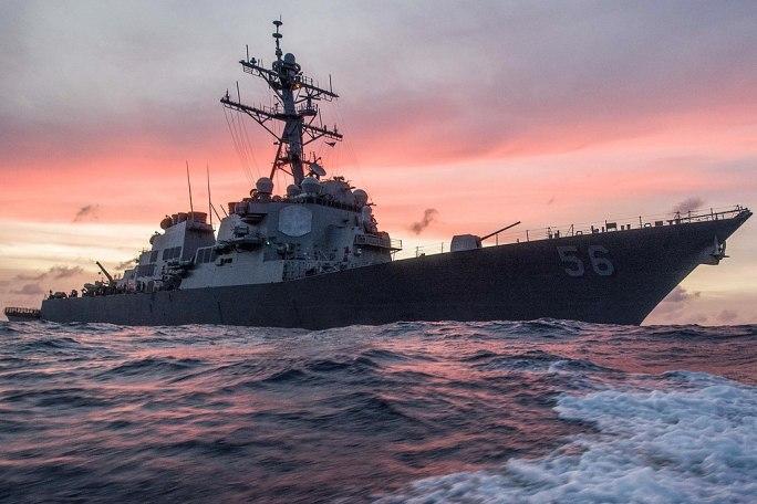 USS John S McCain South China Sea 1