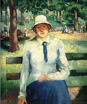 Kazimir Malevich's impressionist Unemployed Gi...