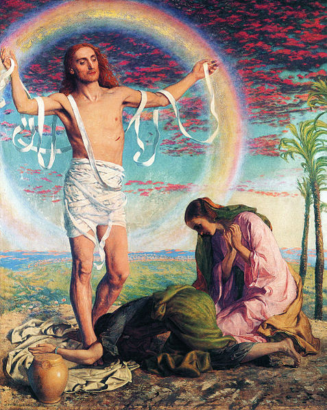 File:William Holman Hunt - Christ And The Two Marys.jpg
