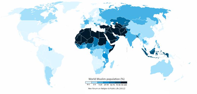 File:World Muslim Population Pew Forum.png