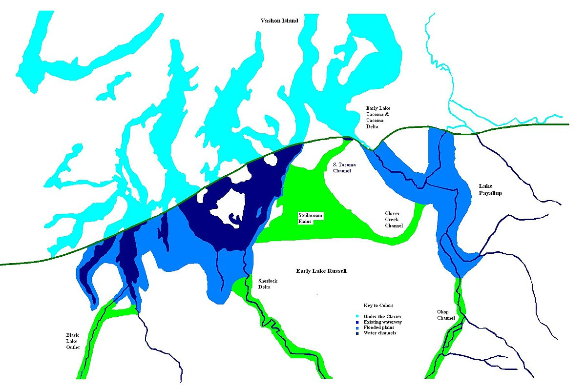 hight resolution of lake channel diagram