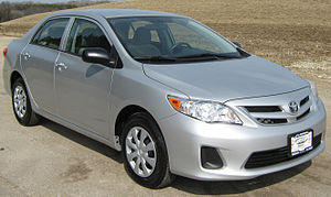 2011 Toyota Corolla photographed in USA. Categ...