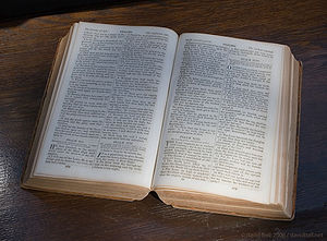 An Antebellum era (pre-civil war) family Bible...