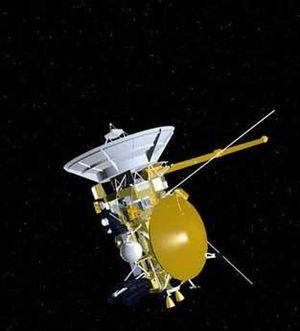 Nederlands: Cassini ruimtevaartuig - artist's ...