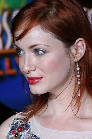 Christina Hendricks at the premiere of Serenity.
