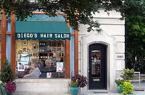Diego's Hair Salon located at 1901 Q Street, N...