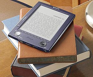 English: A Picture of a eBook Español: Foto de...