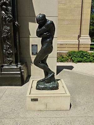 Sculpture of Eve by Auguste Rodin. Located at ...