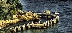 The island of Gulangyu is a pedestrian only de...