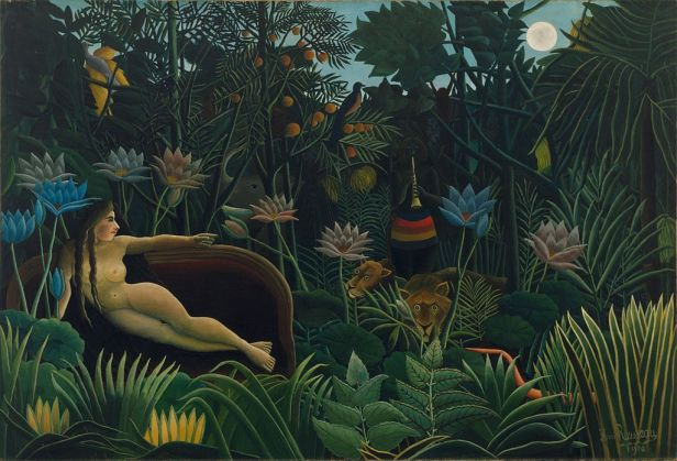"""The Dream"" by Henri Rousseau"
