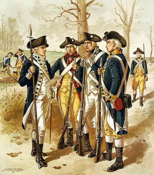 Fileinfantry, Continental Army, 17791783jpg  Wikimedia