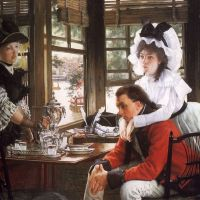 James Tissot Goes to the Museum