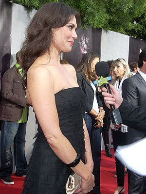 "Michelle Forbes at the ""True Blood"" ..."
