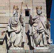 Josias y Manasses (El Escorial)