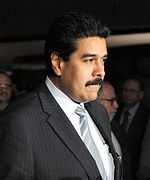 Nicolás Maduro serving as interim president