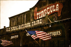 English: Old Town Temecula