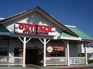 Outback Steakhouse in w:California