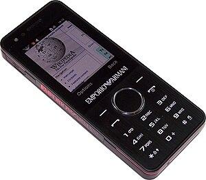 Samsung M7500 Night Effect mobile phone