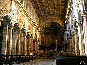 Interior, San Marco, Rome