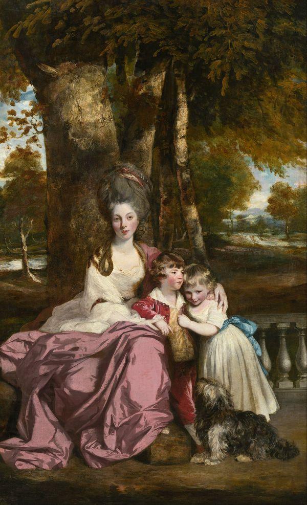 Lady Elizabeth Delm And Children - Wikipedia