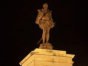 Statue of Miguel de Cervantes, Alcalá de Henares