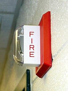 Alarme incendie — Wikipédia