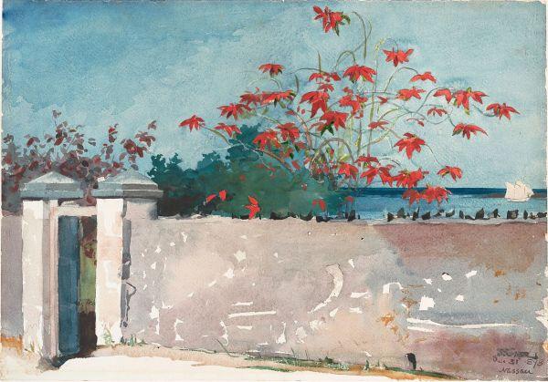 Winslow Homer Watercolor