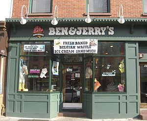 The Ben & Jerry's on Washington Street in Hobo...