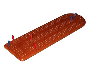 Modern 120-hole cribbage board