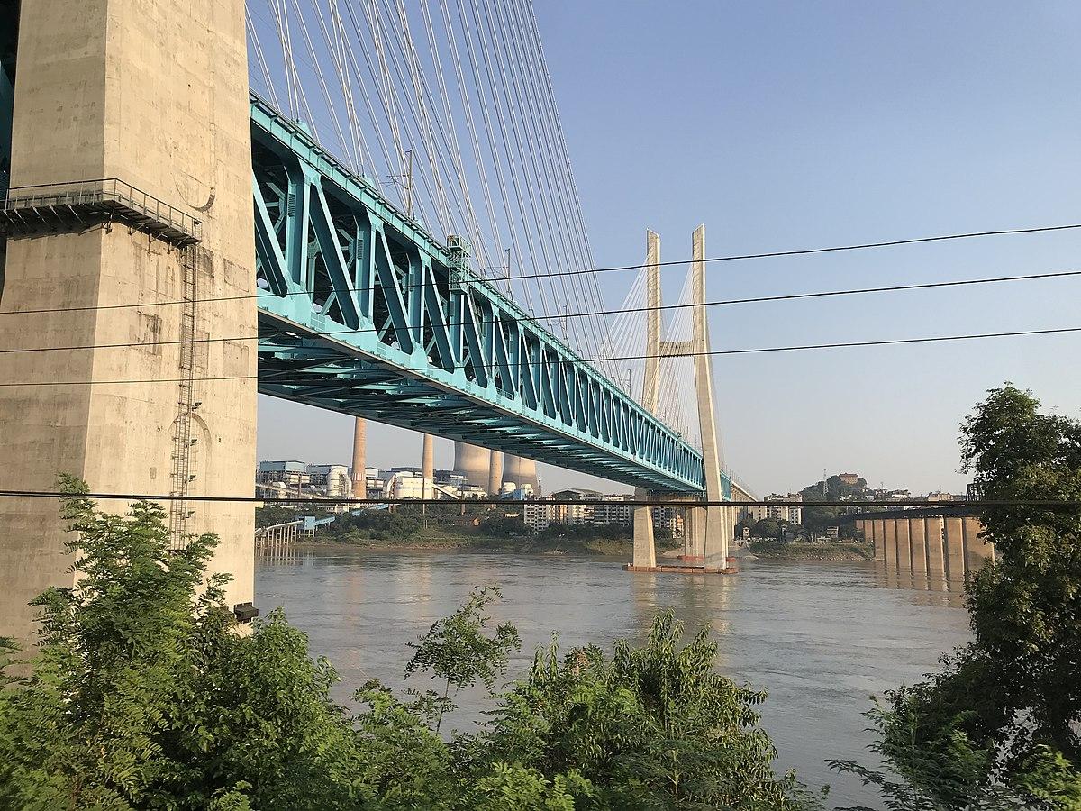 新白沙沱長江大橋 - 維基百科。自由的百科全書