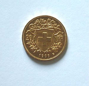 20 Schweizer Franken