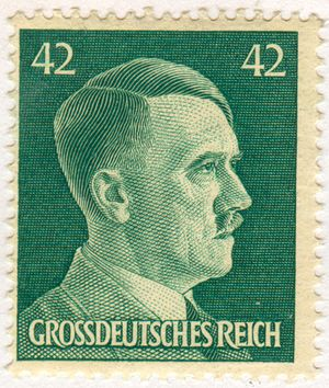 Stamp of the Greater German Reich, depicting A...