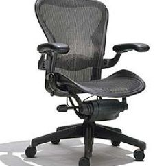 Ergonomic Chair Types White Covers With Royal Blue Sashes Office Wikipedia The Aeron By Herman Miller