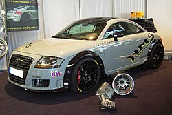 Una Audi TT modificata