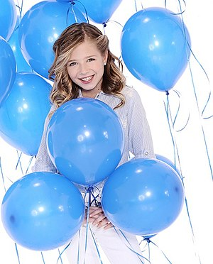 English: Photo of Jackie Evancho for promotion...