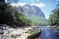En Canaima se evidencia la pluviosidad de la Guayana.