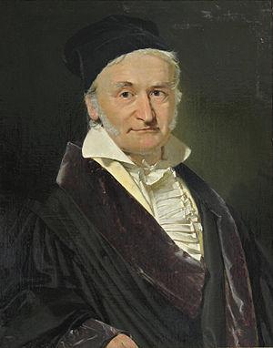 Carl Friedrich Gauß, Öl auf Leinwand, 1840