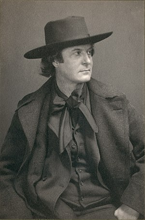 Amercian philosopher Elbert Hubbard (1856-1915...