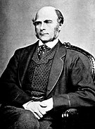 Eugenics, a school of thought promulgated by the 19th century English scientist Francis Galton, advocates selective breeding of humans for the purposes of human genetic improvement.
