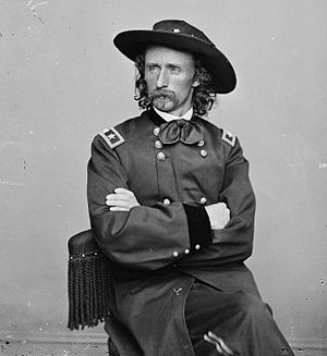 English: George Armstrong Custer.