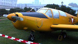 Schulflugzeug Saab Safir des Österreichischen ...