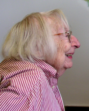 Jane Jacobs, 2004. Part of a picture of Jacobs...
