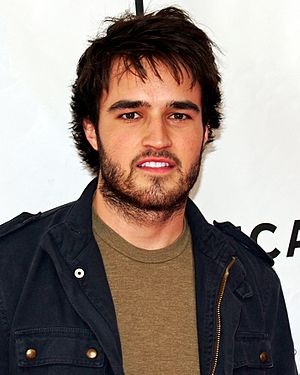 Justin Mentell, April 2007