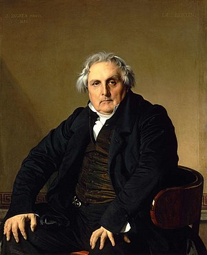 Jean Auguste Dominique Ingres, Portrait of Mon...